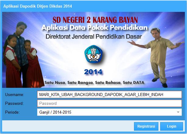 operator SDN 2 Karang Bayan
